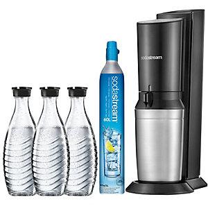 SodaStream Crystal kullsyremaskin m/flasker