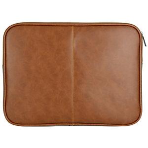 "Sandstrøm 13"" laptop PU læretui (brun)"