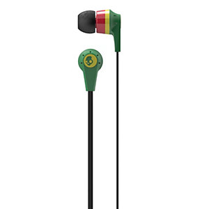 Skullcandy Ink'd 2 Hörlurar in-ear S2IKDY102 (rasta)