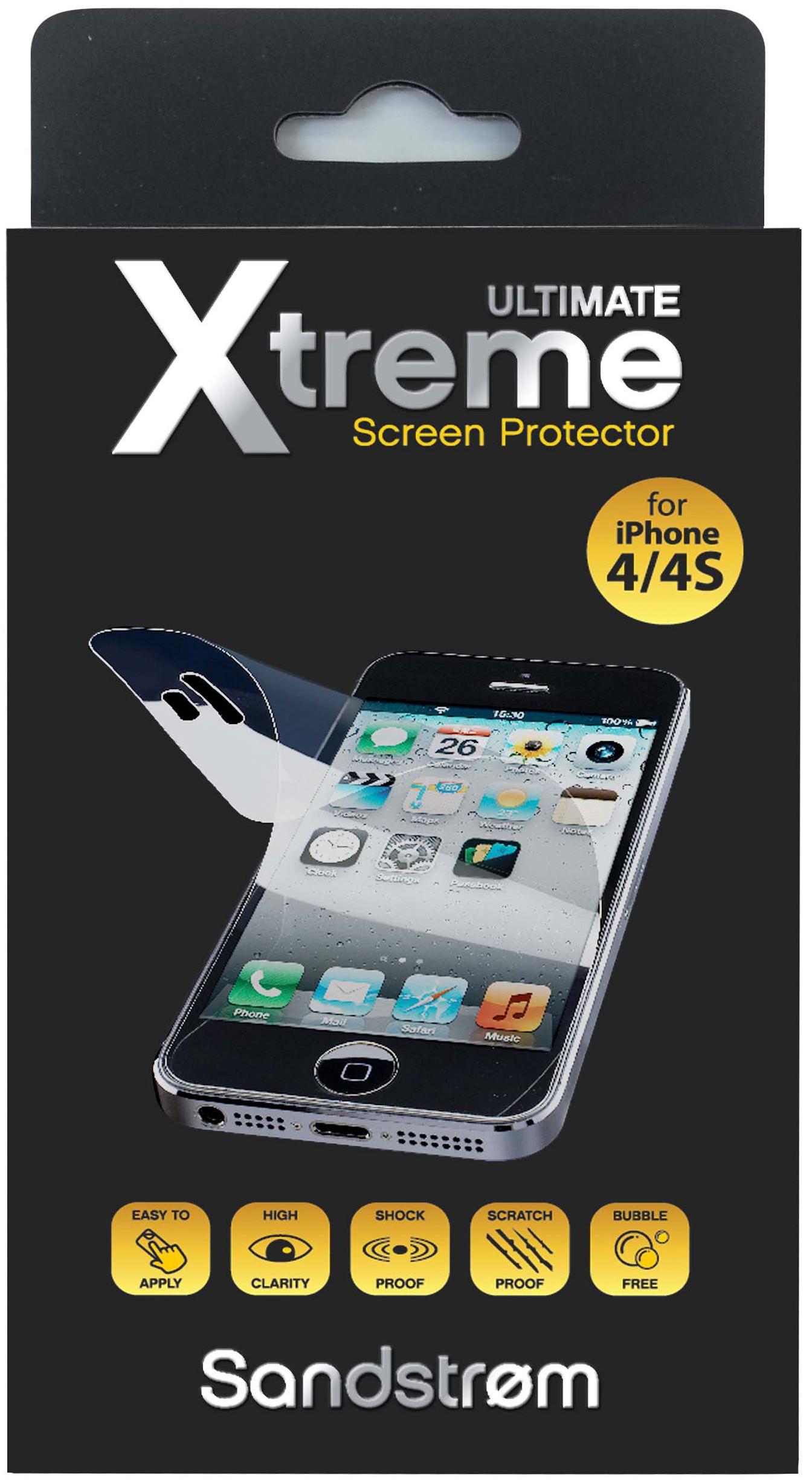 061413 : Sandstrøm skjermbeskytter til iPhone 4