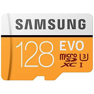 Samsung Evo Micro SDXC UHS-3 minnekort 128 GB