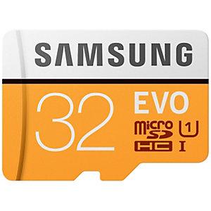 Samsung Evo Micro SDHC UHS-1 minnekort 32 GB