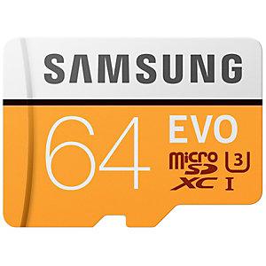 Samsung Evo Micro SDXC UHS-3 minnekort 64 GB