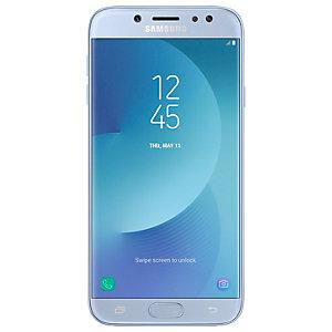 Samsung Galaxy J7 2017 smarttelefon (sølvblå)