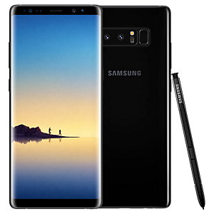 Samsung Galaxy Note8 smarttelefon (sort)
