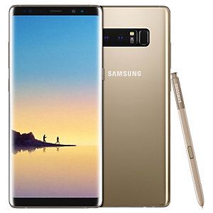 Samsung Galaxy Note8 smartphone (guld)