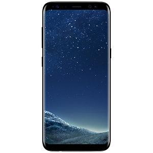 Samsung Galaxy S8 smarttelefon (sort)