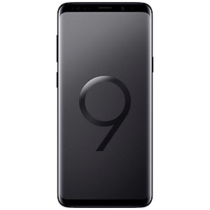 Samsung Galaxy S9+ smarttelefon (sort)