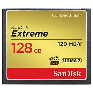 SanDisk CompactFlash Extreme muistikortti (128 GB)