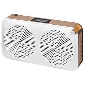 Sandstrøm DAB+ portabel radio SCARIADUCG17E (guld)