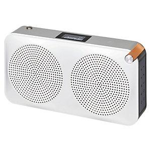 Sandstrøm DAB+ portabel radio SCARIADUSI17E (silver)