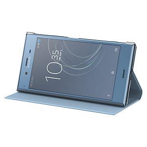 Sony Xperia XZ1 Style stativdeksel (blå)