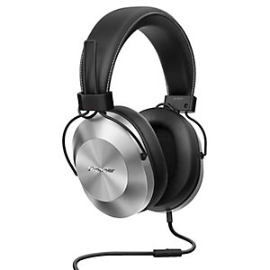 Pioneer hörlurar around-ear SE-MS5T silver, svart