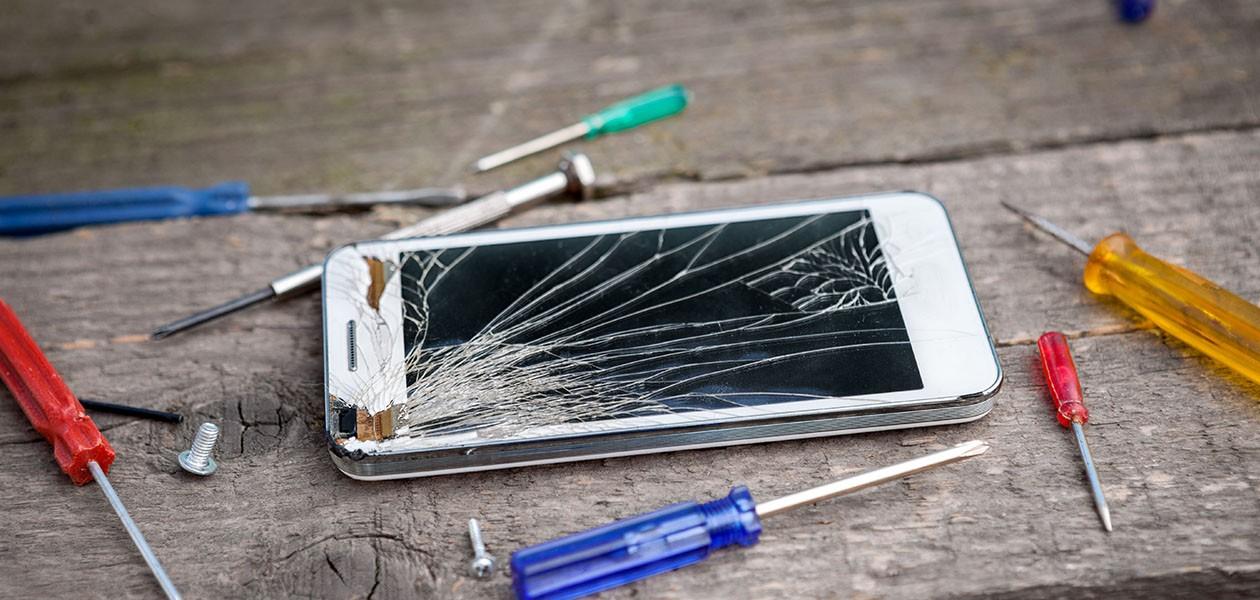 Knust iphone skjerm elkjøp