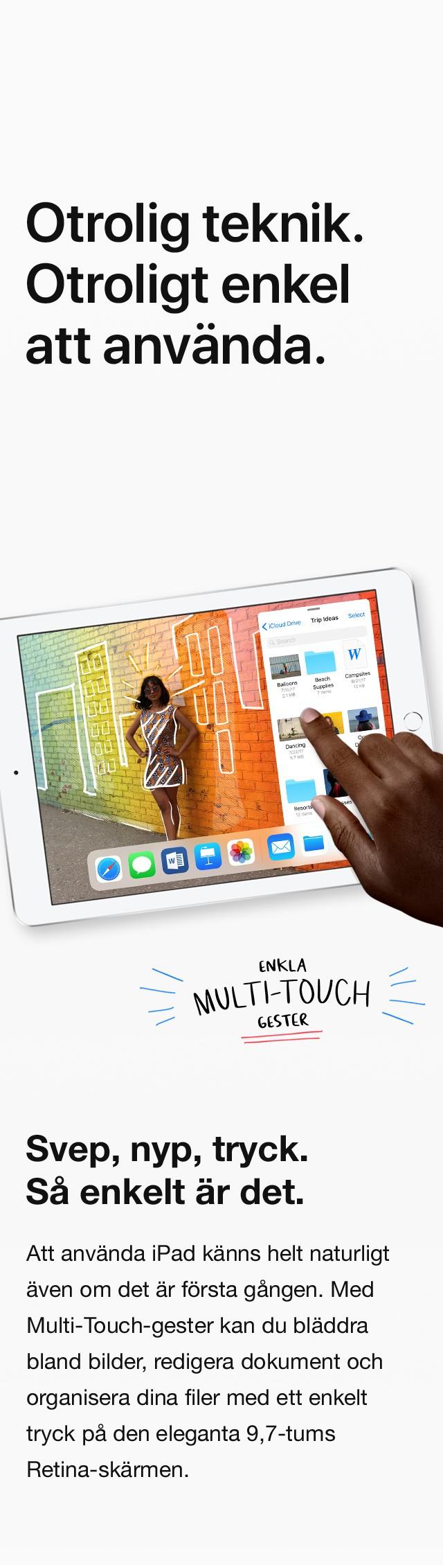 Med iOS 11 är Dock endast ett svep bort, vilket betyder att det är ännu enklare att öppna dina favoritappar