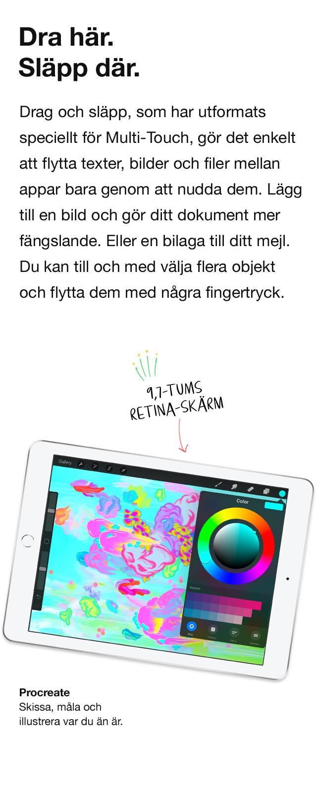 Använd ditt fingeravtryck som ditt lösenord tryggt och enkelt med Touch ID
