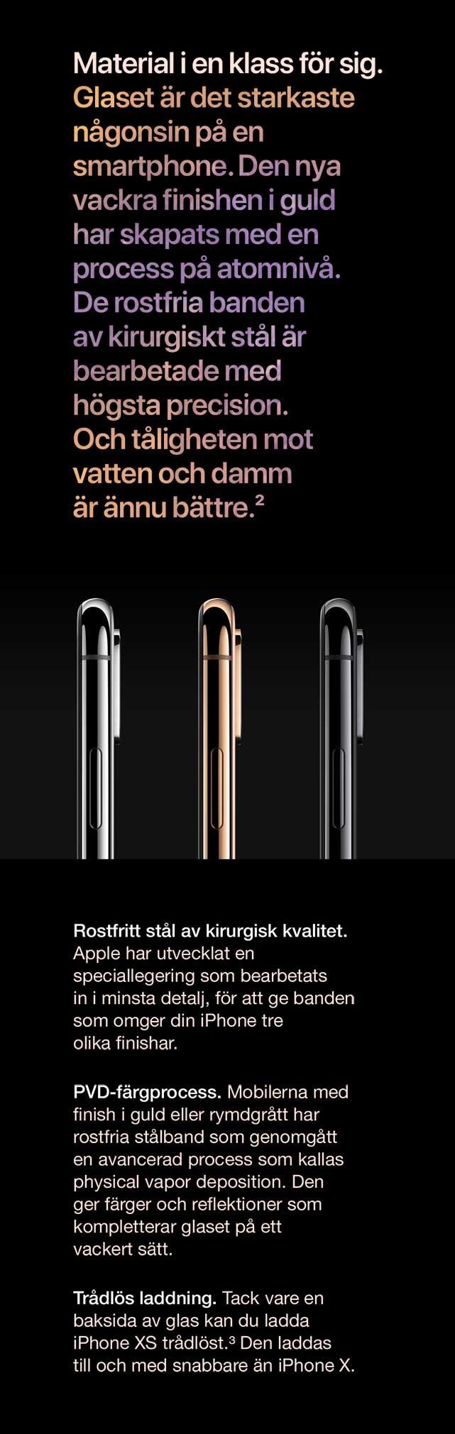 iPhone Xs har det starkaste glaset på en mobil någonsin