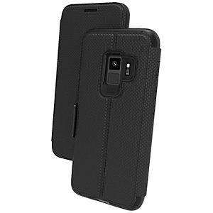 GEAR4 D3O Oxford Samsung Galaxy S9 fodral (svart)