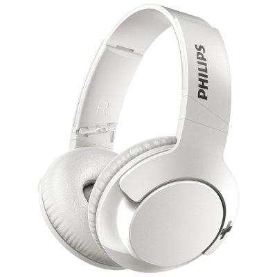 Philips Bass+ SHB3175 trådlösa on-ear hörlurar(vit) - Hörlurar ... 24a2d0616a266