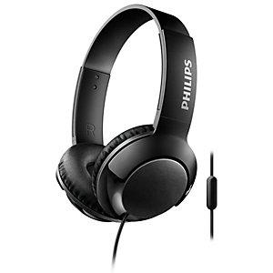 Philips Bass+ on-ear hodetelefoner SHL3075 (sort)