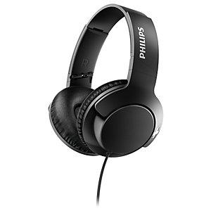 Philips Bass+ around-ear hodetelefoner SHL3175 (sort)