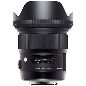 Sigma Art AF 24 mm f/1.4 DG HSM objektiivi (Nikon)