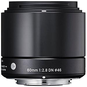 Sigma DN Art AF 60 mm teleobjektiivi (hopea)