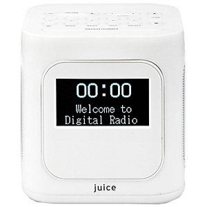 Sandstrøm Juice Minute Bärbar Radio SJUTWH15E (vit)
