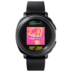 Samsung Gear Sport smartklokke (sort)