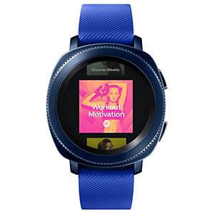 Samsung Gear Sport smartklokke (blå)