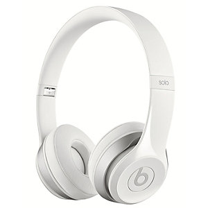 Beats by Dr. Dre Solo 2 hodetelefoner (hvit)