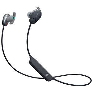 Sony WI-SP600 trådlösa in-ear hörlurar (svart)