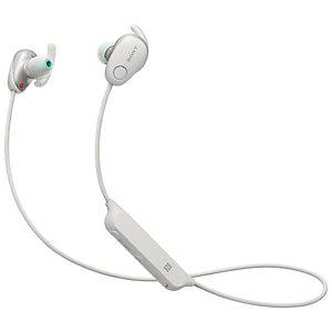 Sony WI-SP600 trådløse in-ear hodetelefoner (hvit)