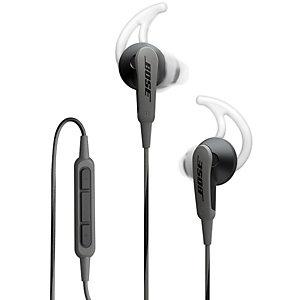 Bose SoundSport Hörlurar in-ear till iOS (svart)