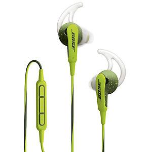 Bose SoundSport Hörlurar in-ear till iOS (grön)