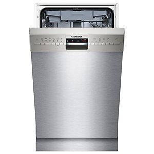 Siemens iQ500 oppvaskmaskin SR46M581SK (stål)