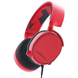 SteelSeries Arctis 3 gaming headset (röd)
