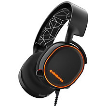 SteelSeries Arctis 5 gaming-headset - sort