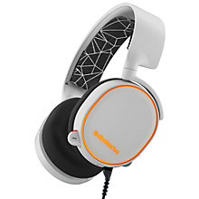 SteelSeries Arctis 5 gaming-headset - hvid