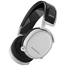 SteelSeries Arctis 7 trådløs gaming headset - hvid