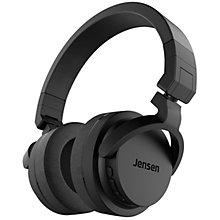 Jensen Buddy Stadium trådlösa around-ear hörlurar svart 180d6b94421c3