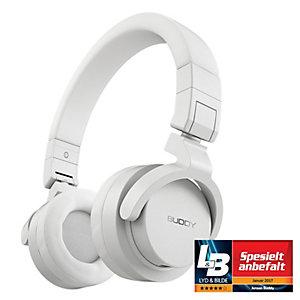 Jensen Buddy Street on-ear hodetelefoner (hvit)