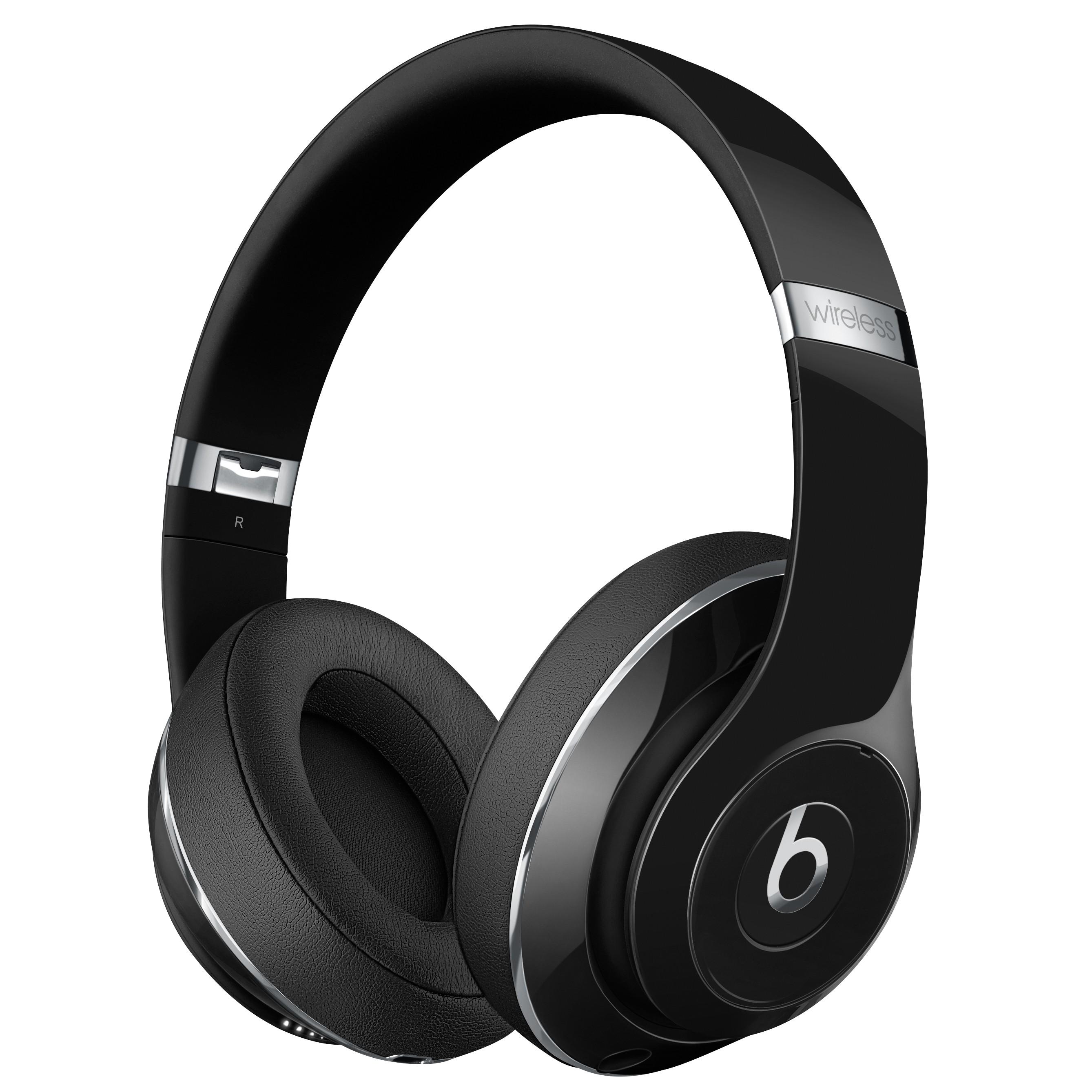 Beats Studio trådløse around-ear hodetelefoner (sort) STUDIOWIRGBK