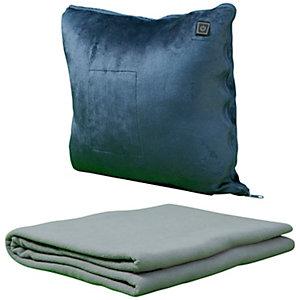 Stay Warm uppvärmd kudde med filt 18341
