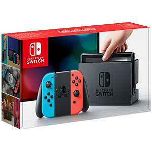 Nintendo Switch gaming konsol  + Joy-Con (neon)