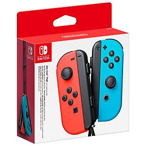 Nintendo Switch Joy-Con kontrollpar (neon rød+blå)
