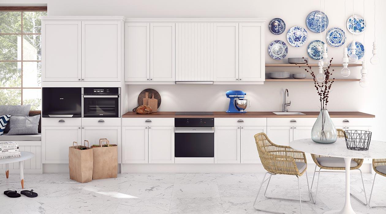 Vi hjelper deg med å finne riktig integrert produkt til kjøkkenet