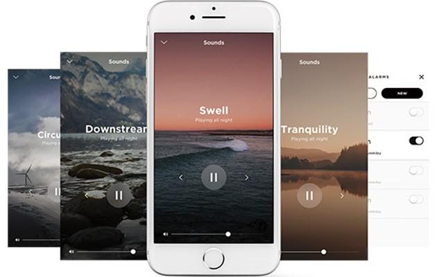 Bild av Sleep-appen på mobil