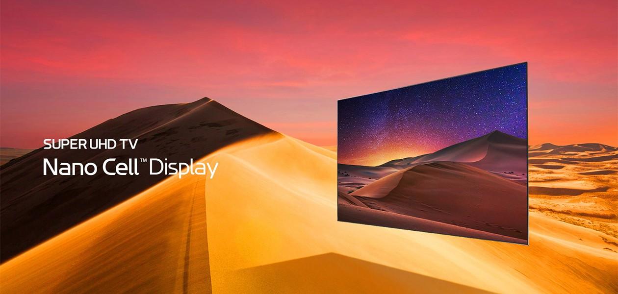 Perfekte farver med LG SUPER UHD TV