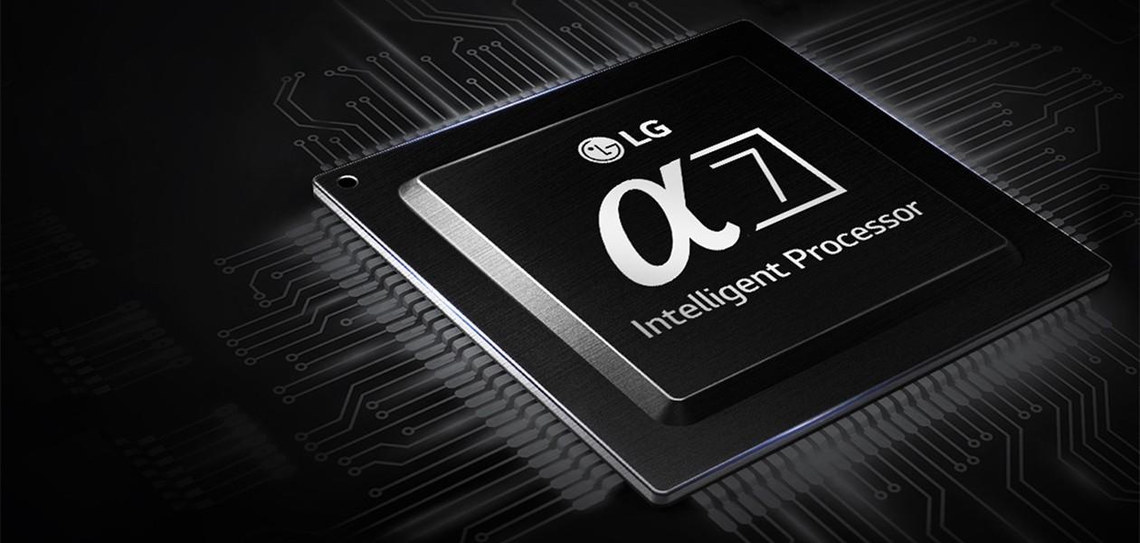 LG SUPER UHD TV kommer med den nye smarte α7 Intelligent Processor